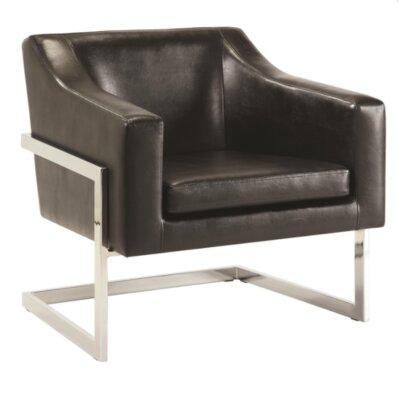Crosland Armchair Upholstery: Black
