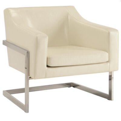 Crosland Armchair Upholstery: White