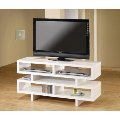 Pawlowski 47.25 TV Stand Color: White