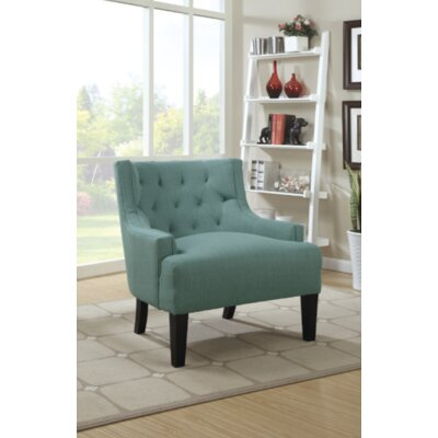 Suzie Club Chair Upholstery: Light Blue