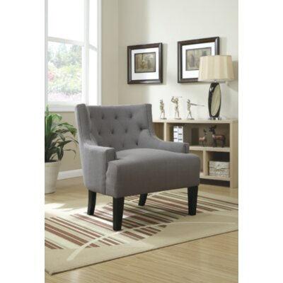 Suzie Club Chair Upholstery: Gray