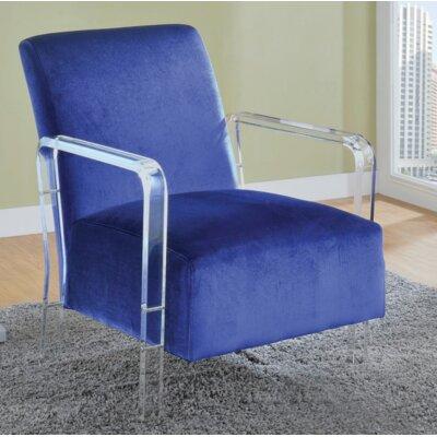 Milardo Armchair Upholstery: Blue