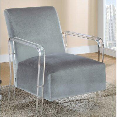 Milardo Armchair Upholstery: Gray