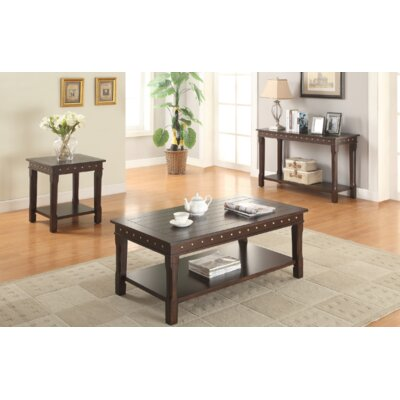Angeville 3 Piece Coffee Table Set