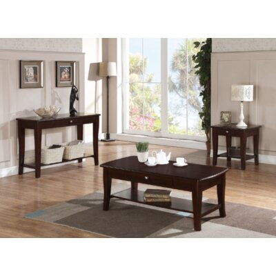 Pernelia 3 Piece Coffee Table Set