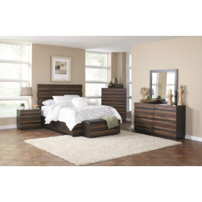 Cambria Platform Configurable Bedroom Set
