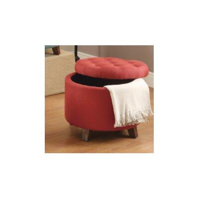 Call Storage Ottoman Upholstery: Carmine
