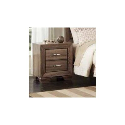 Larabee 2 Drawers Nightstand