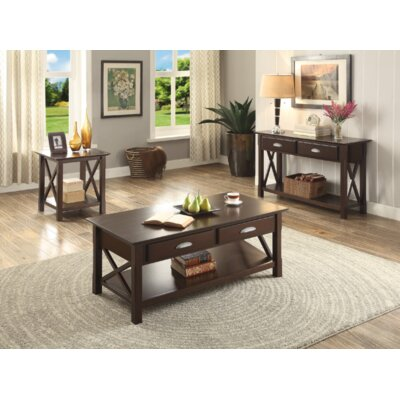 Domaingue 3 Piece Coffee Table Set