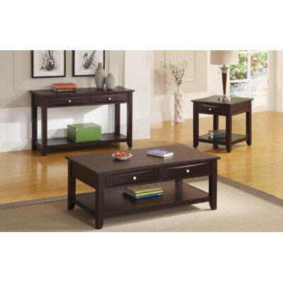 Doobay 3 Piece Coffee Table Set