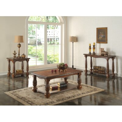 Leithgow 3 Piece Coffee Table Set