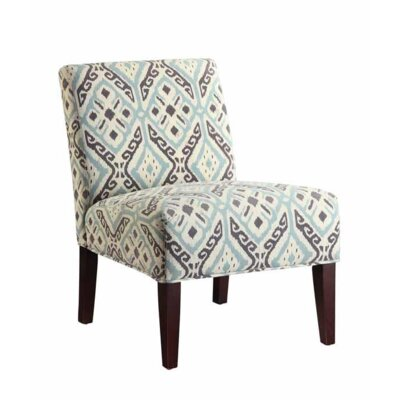 Gaskill Slipper Chair Upholstery: Beige/Ikat