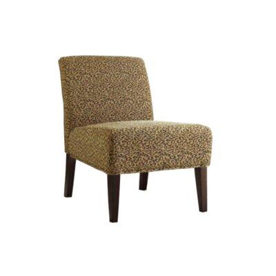 Gaskill Slipper Chair Upholstery: Leopard/Animal