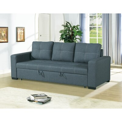Bhondave Reclining Sofa Color: Blue Gray