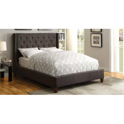 Acquah Panel Bed Color: Gray, Size: California King