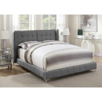 Cosme Upholstered Platform Bed Size: California King