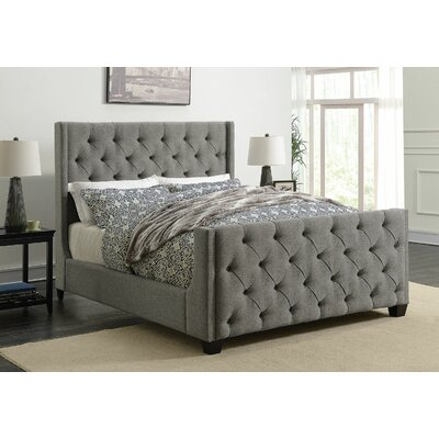 Bottrell Upholstered Panel Bed Size: California King