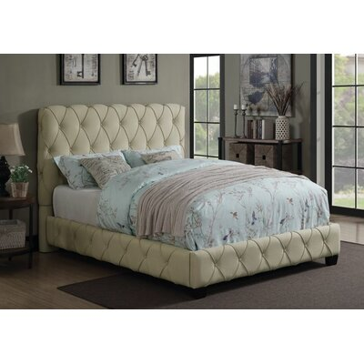 Brea Upholstered Panel Bed Size: King