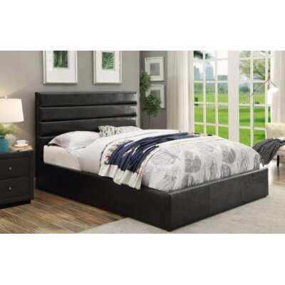 Wiseman Upholstered Platform Bed Size: California