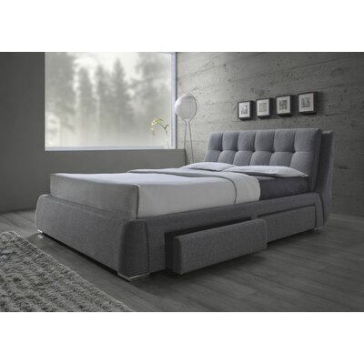 Craver Upholstered Storage Platform Bed Size: Queen