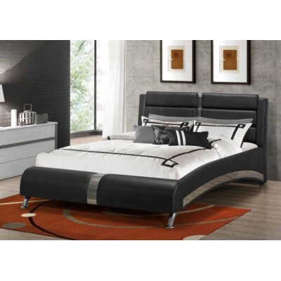 Crews Upholstered Platform Bed Color: California King