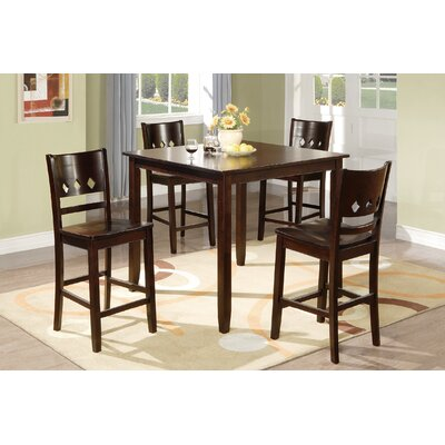 Fessler 5 Piece Dining Set