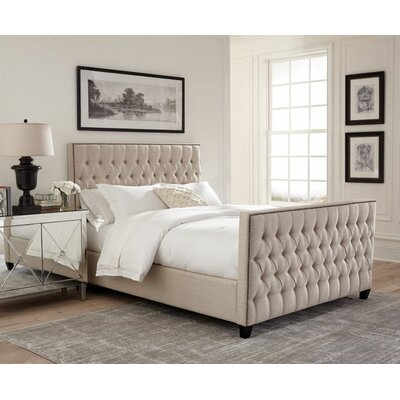 Samella Upholstered Panel Bed Size: King