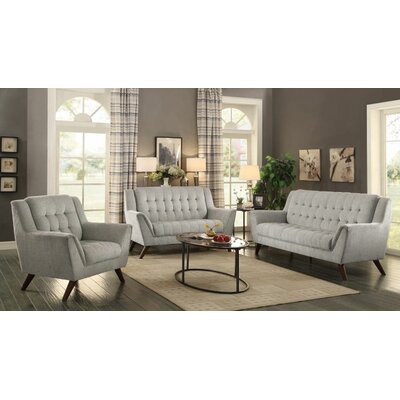 Frances 3 Piece Living Room Set