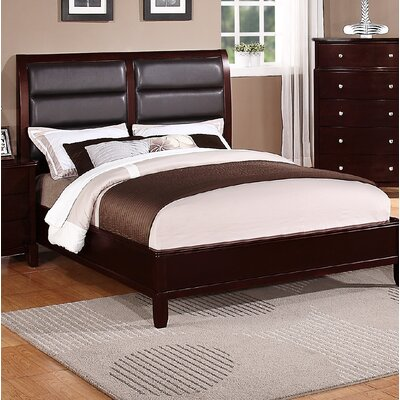Hoggan Upholstered Panel Bed Size: King