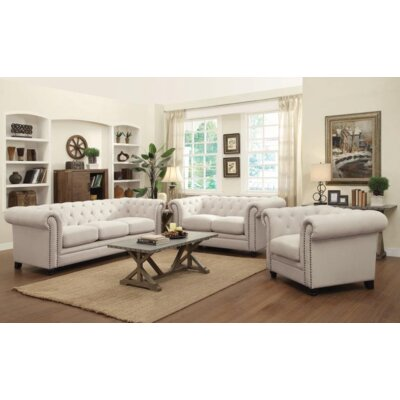 Cozine Armchair Upholstery: Oatmeal