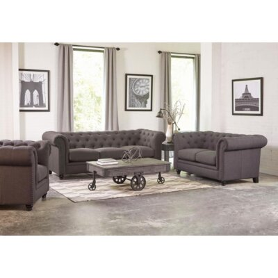 Cozine Armchair Upholstery: Gray