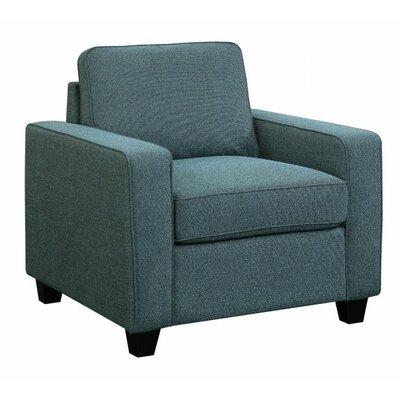 Chiesa Armchair Upholstery: Blue