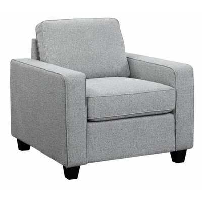Chiesa Armchair Upholstery: Gray