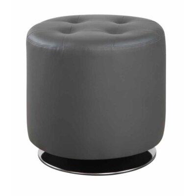 Hunnicutt Accent Ottoman Upholstery: Gray