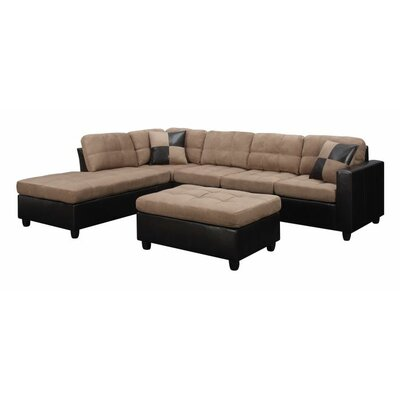 Swayne 2 Piece Living Room Set Upholstery : Tan