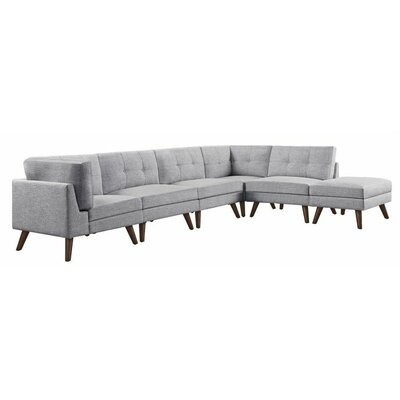 Wilke Modular Sectional With Ottoman