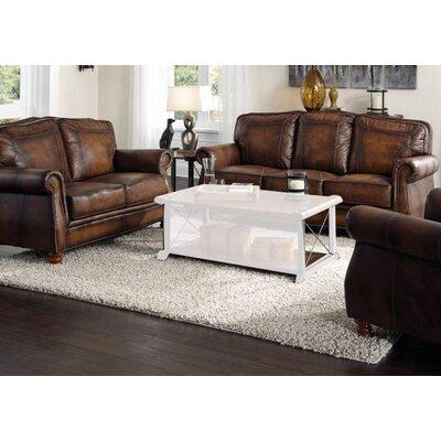 Drumaduan 4 Piece Leather Living Room Set