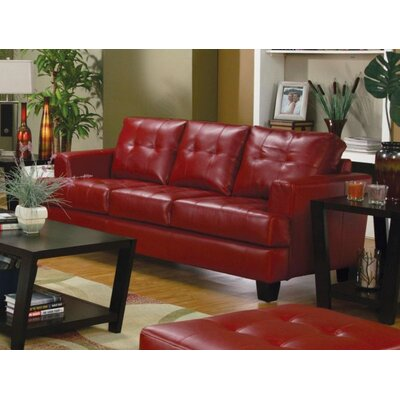 Kelch Sofa Upholstery: Red