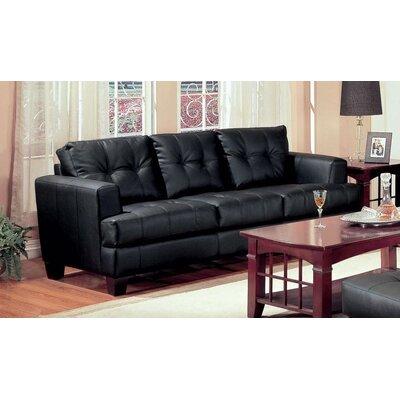 Kelch Sofa Upholstery: Black