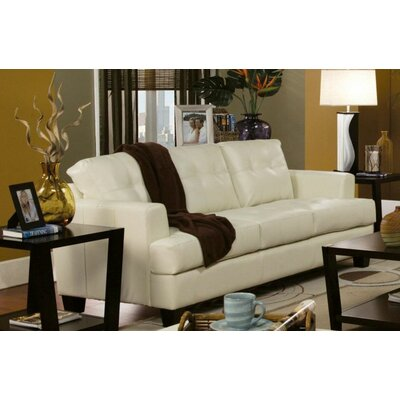 Kelch 4 Piece Living Room Set Upholstery: Cream