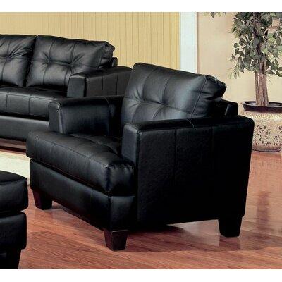 Kelch Armchair Upholstery: Black