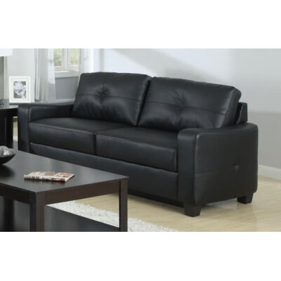 Mendonca Sofa Upholstery: Black
