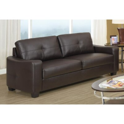 Mendonca 3 Piece Living Room Set Upholstery: Dark Brown