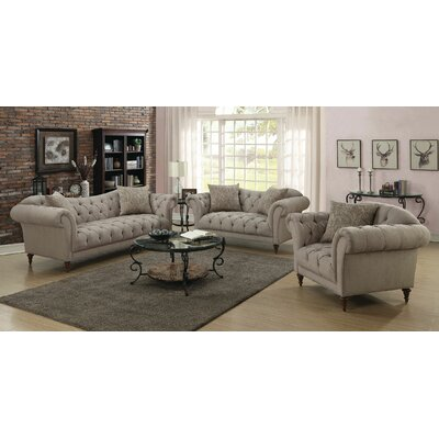 Haygood 3 Piece Living Room Set