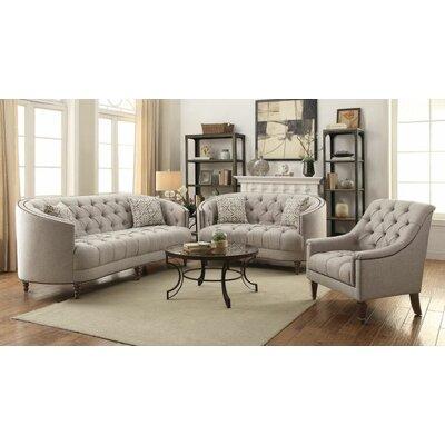 Hayhurst 3 Piece Living Room Set