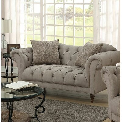 Haygood Chesterfield Loveseat