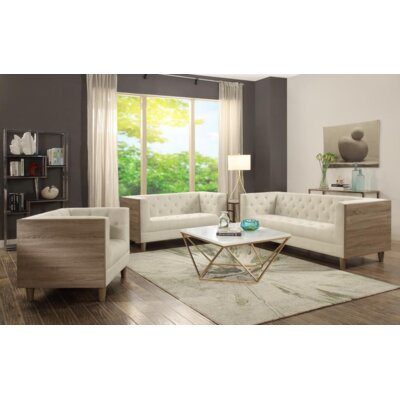 Gilley 3 Piece Living Room Set