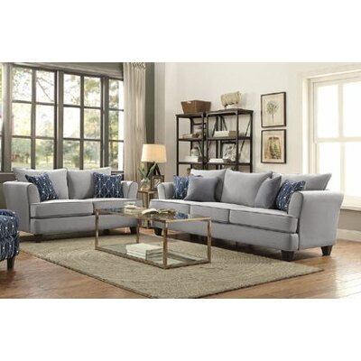 Wilborn 2 Piece Living Room Set