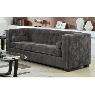 Kulick 3 Piece Living Room Set Color: Charcoal