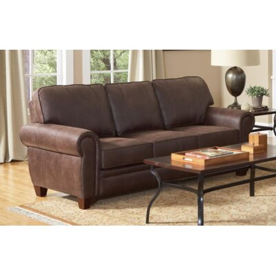 Krout Genuine Leather Sofa